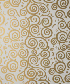 KR36-WHITE-WITH-GOLD-ESCARGOT -PAPER
