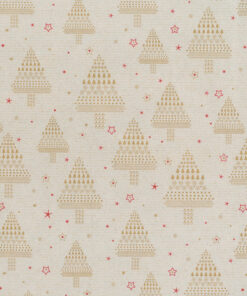 KR762A-KRAFT-WHITE-ICO-XMAS-TREES-PAPER