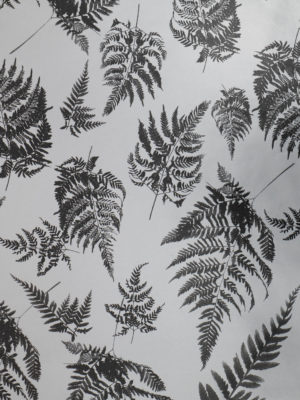 KRSLVBLK91-SILVER-WITH-BLACK-FERNS-PAPER