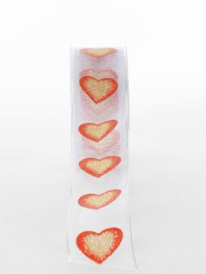 NG6201A96-RIBBON-WHITE-W-GOLD-RED-HEARTS