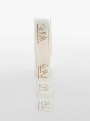 NT432M-RIBBON-COTTON-BEIGE-SEWING