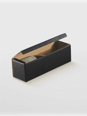 BXF13756-WINE-BOX-FLIP-LID-SIBGLE-BLACK-TEXTURED