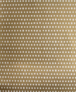 Pearly Dots Soft Gold Wrapping Paper Available In One Size Only