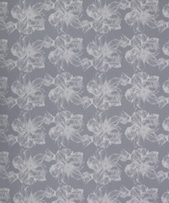 Printed Peony Sketch Design On Bleached Kraft Wrapping Paper Available In Different Lengths