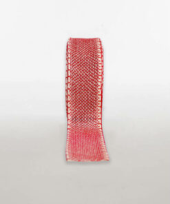Open Weave Cotton Two Tone Ribbon Available In Two Colours